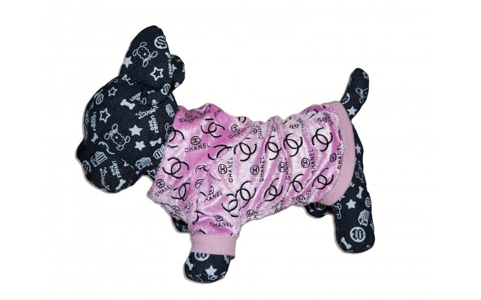 Aksominis drabužėlis - Chanel Pink