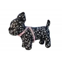 Kristalais dekoruotos kačių šunų petnešos