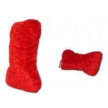 Pliušinis žaislas šunims su garsu - Bone