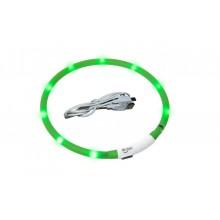 Universalus šviečiantis USB LED antkaklis